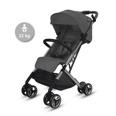 knorr-baby Passeggino sportivo S-Easy-Fold antracite-nero