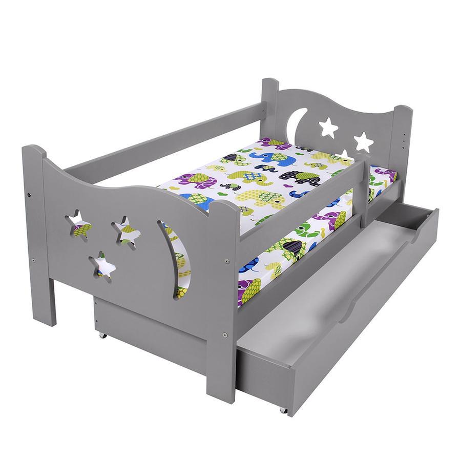 Kagu Kinderbett grau  70 x 140 cm