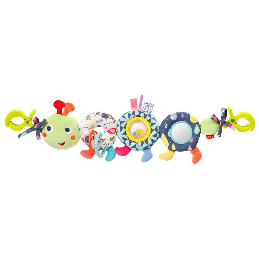 fehn ® Caterpillar barnevognkjede COLOR Friends