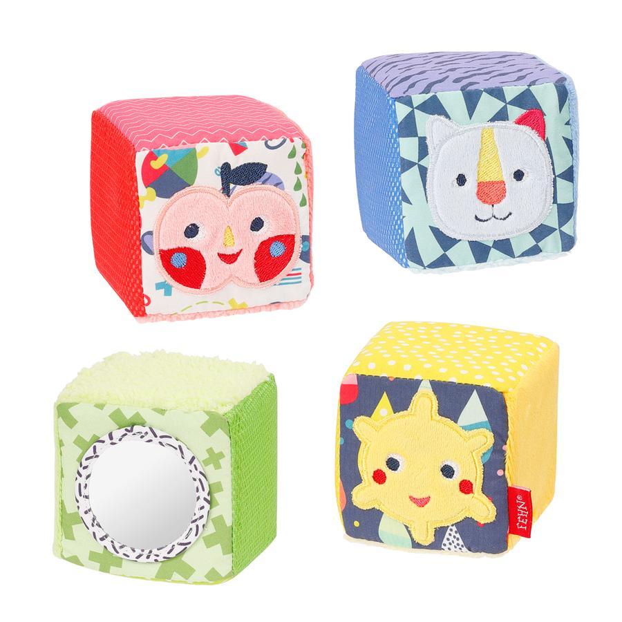 fehn ® conjunto de 4 cubos COLOR Friends