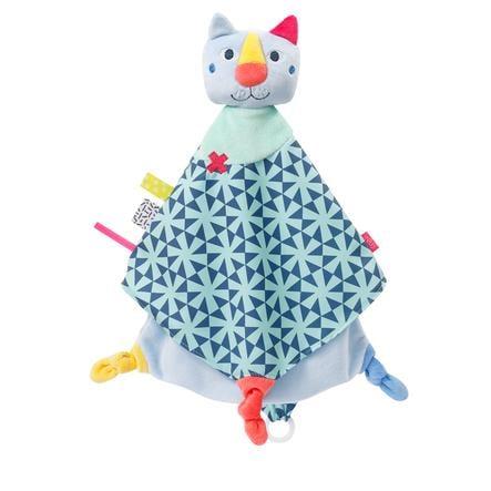 fehn® Schmusetuch Katze Deluxe
