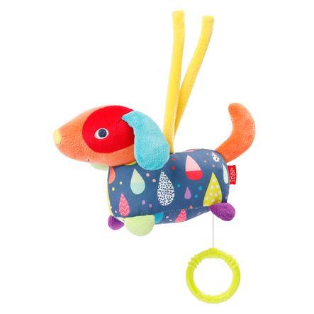 fehn ® mini-musical box hund FÄRG Vänner