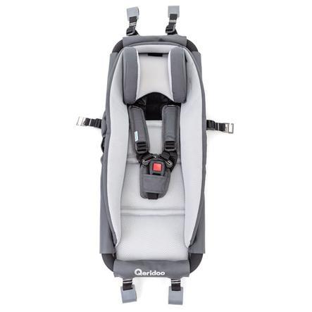 Qeridoo® Hamac bébé pour remorque de vélo enfant, châssis de sécurité