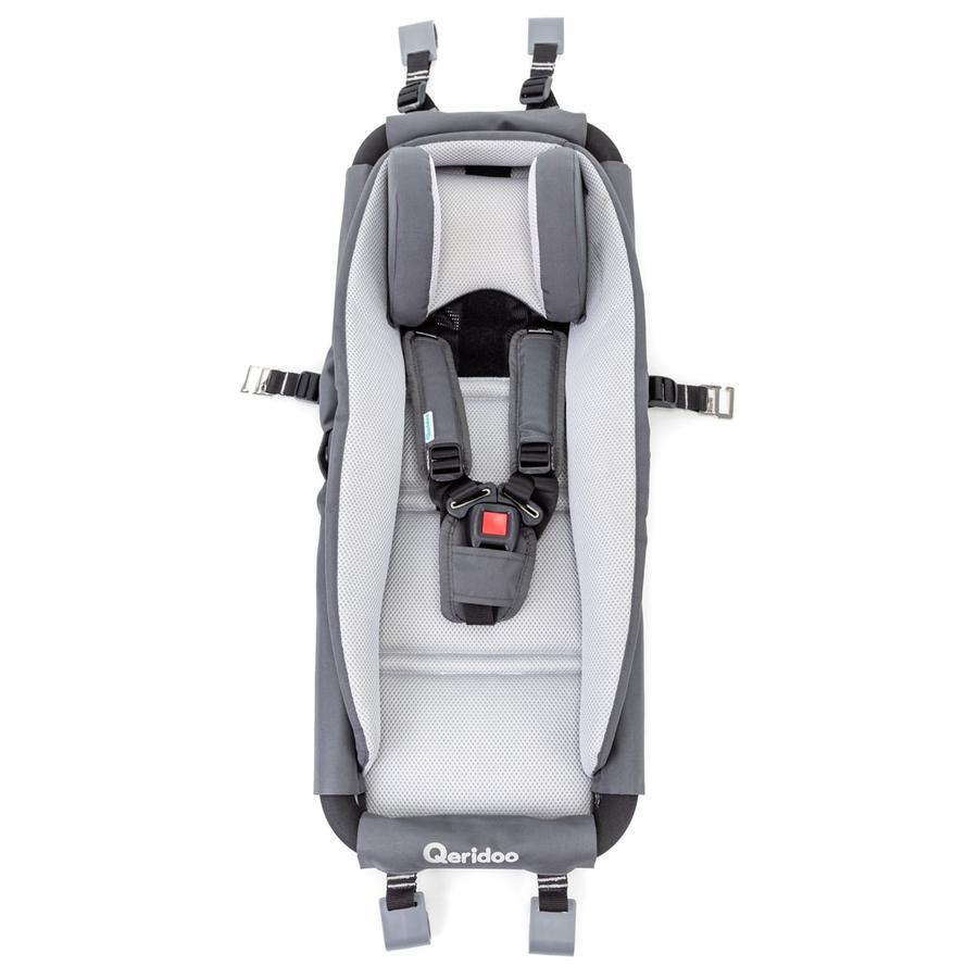 Qeridoo Hamaca portabebés con marco de seguridad para remolque