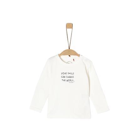 s. Olive r Chemise à manches longues enlevée white