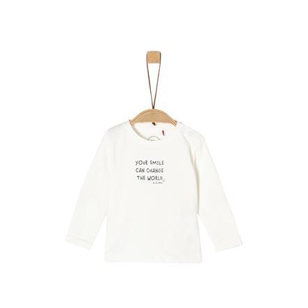 s. Olive r Langærmet skjorte off white