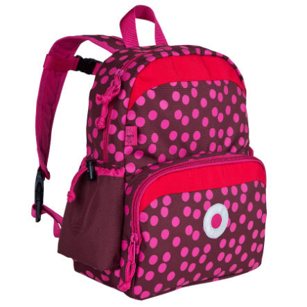 LÄSSIG Mini Sac à dos Backpack Dottie, rouge