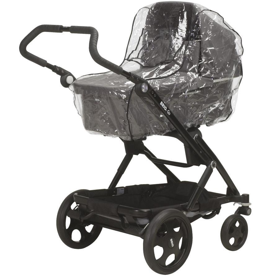 Playshoes  Burbuja de lluvia para carro de bebé universal/transparente