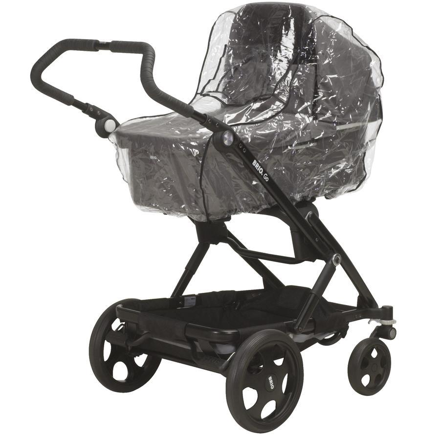 Playshoes Regenverdeck für Kinderwagen universell/transparent