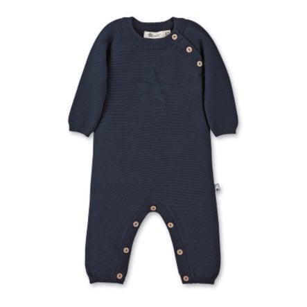 Sterntaler Strikket hel dress marineblå