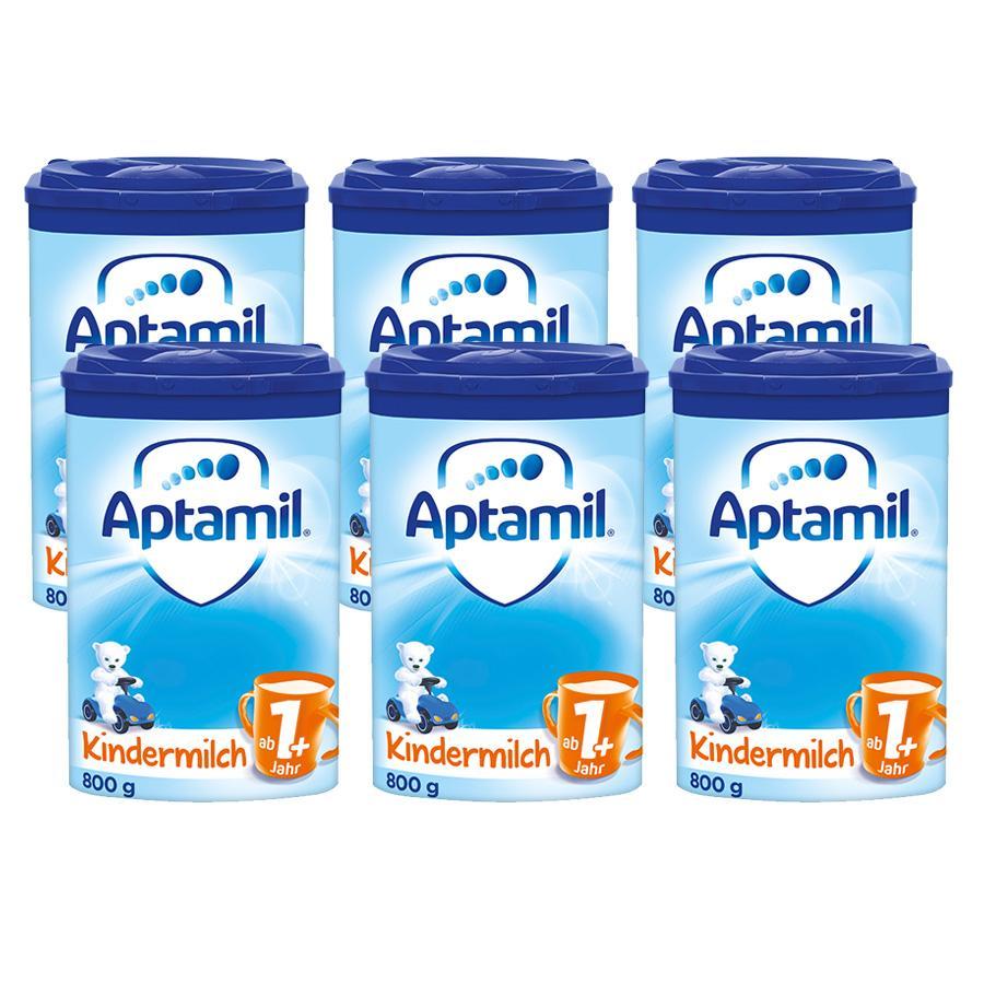 Aptamil Kindermilch 1+ 6 x 800 g ab dem 1. Jahr