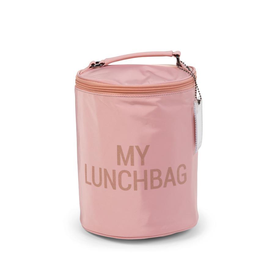 CHILDHOME Lunchbag mit Isolierfutter rosa/kupfer