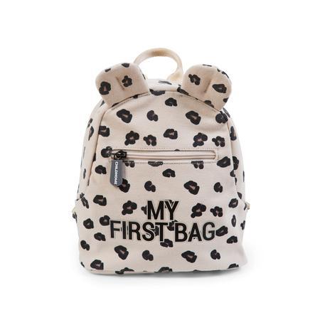 CHILDHOME Sac à dos enfant My First Bag léopard