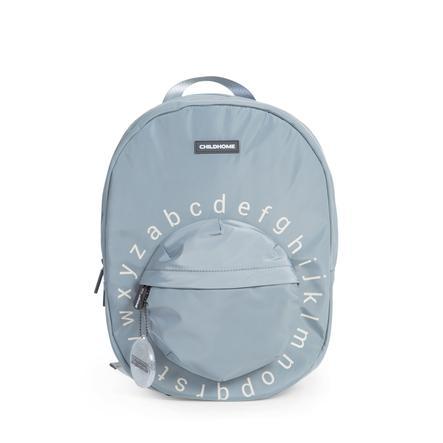CHILDHOME Schulrucksack ABC grau/altweiß