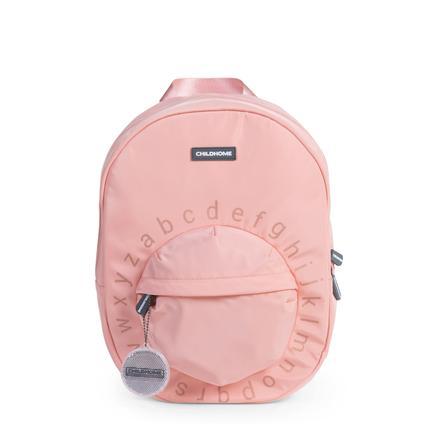 CHILDHOME Schulrucksack ABC rosa/kupfer