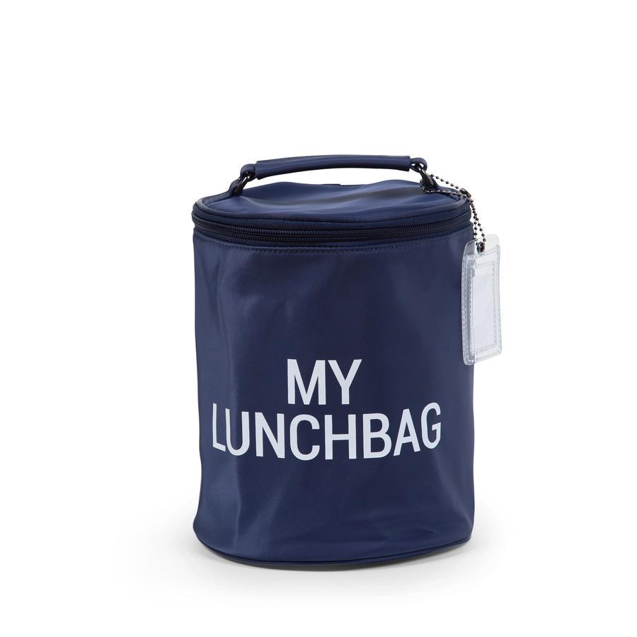 CHILDHOME Lunchbag mit Isolierfutter navy/weiß