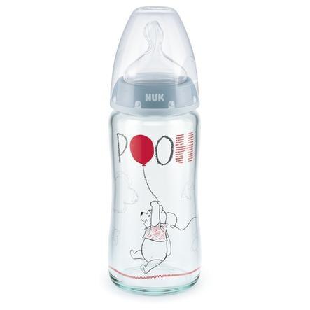 NUK-lasipullo Nature Sense Disney Winnie The Pooh 240 ml