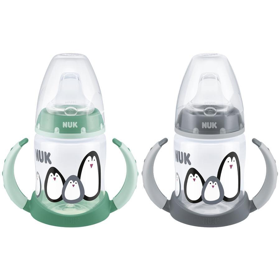 NUK Drickflaska First Choice Monochrome Animals 150 ml Grå / Grön