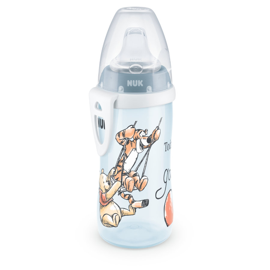 NUK Trinkflasche Active Cup, Winnie the Puuh, blau