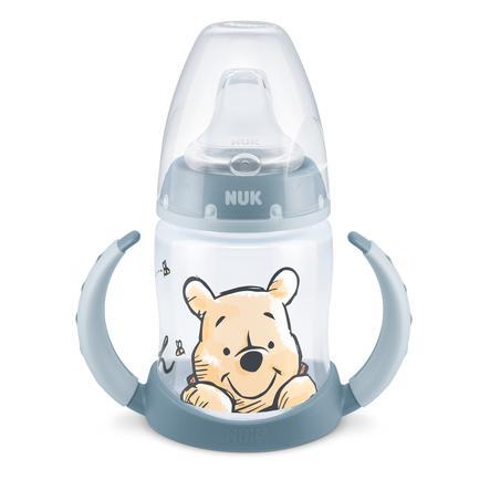 NUK Trinklernflasche  First Choice+ Disney Winnie Puuh blau