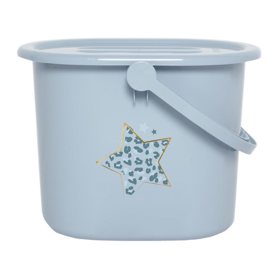 bébé-jou® Windeleimer Leopard Blue