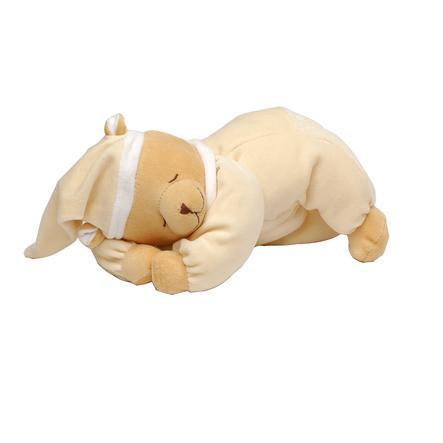 Babiage Doodoo Peluche musicale ourson allongé beige bruits blancs