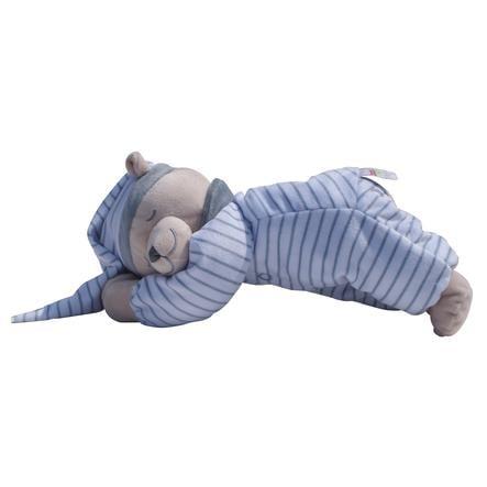 Doodoo Babiage medvídek s proužky  šedé