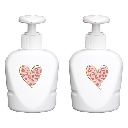 bébé-jou ® Dispensador de jabón Leopardo Rosa