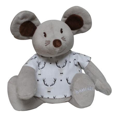 Babiage Doodoo Mouse Natale grigio-bianco