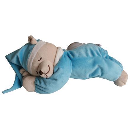 Orso babiage Doodoo con turchese leggero notturno