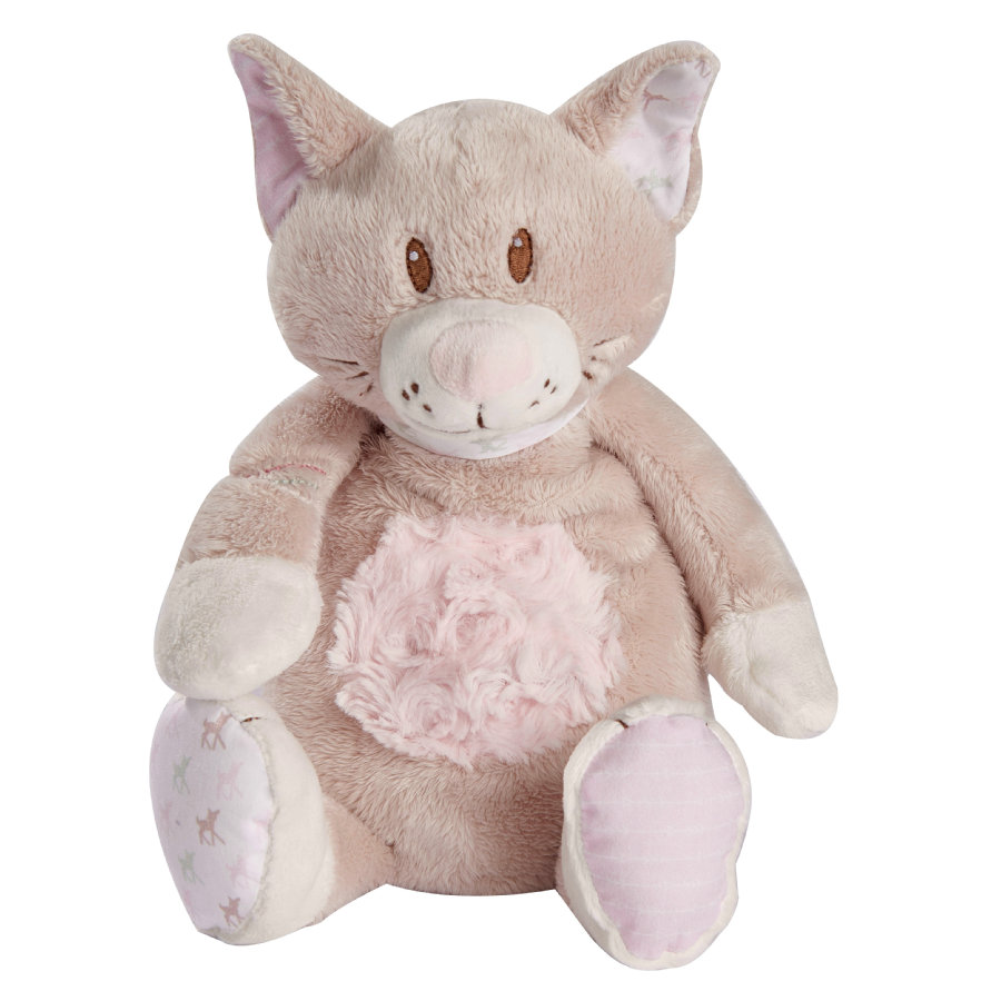 Babiage Doodoo Peluche sonido relajante gata Kitty rosa