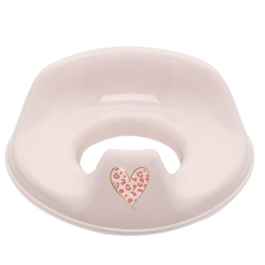 bébé-jou® Toilettensitz de Luxe Leopard Pink