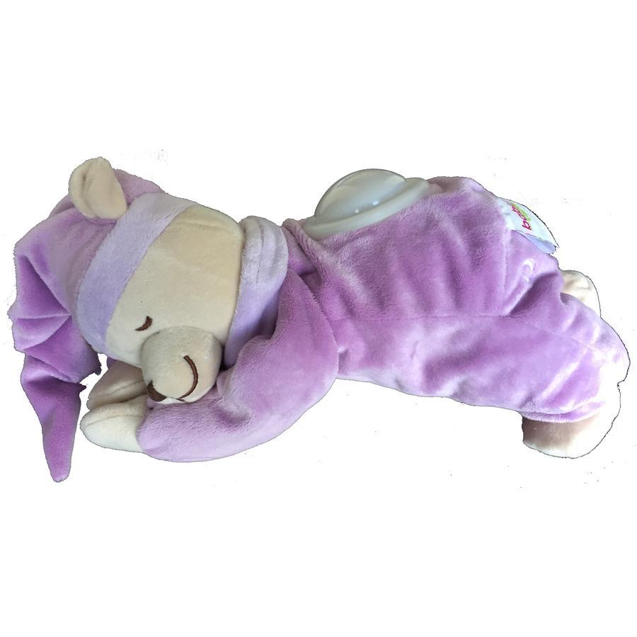 Babiage Doodoo Bär mit Nachtlicht flieder
