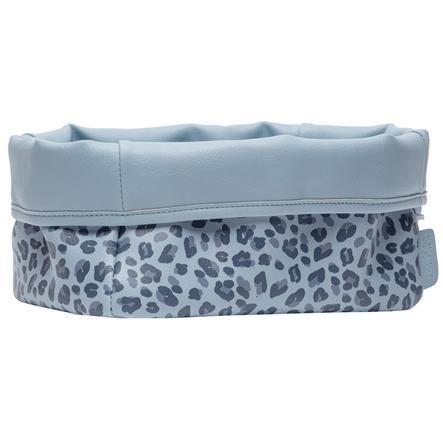 bébé-jou ® Verzorgingskorf Luipaard Blauw