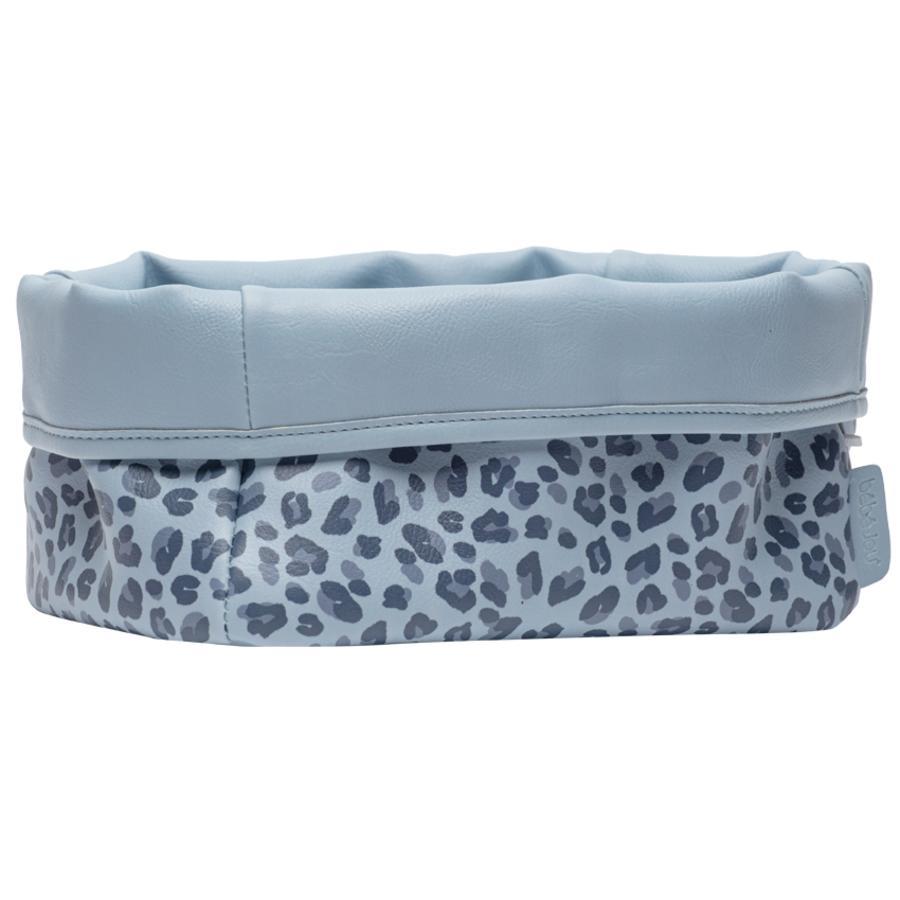 bébé-jou® Pflegekörbchen Leopard Blue