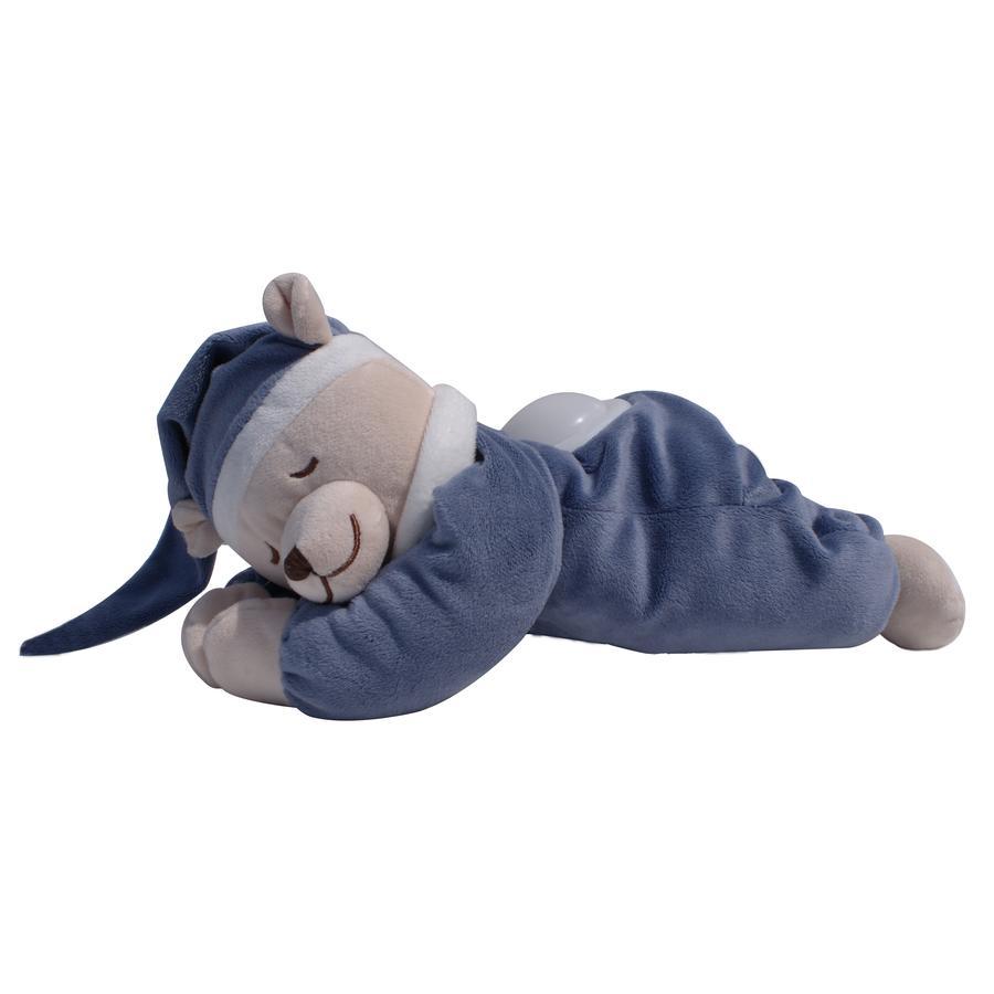 Babiage Doodoo Bär mit Nachtlicht blau