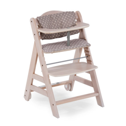 Hauck Kinderstoel Beta Plus Whitewashed/Dots