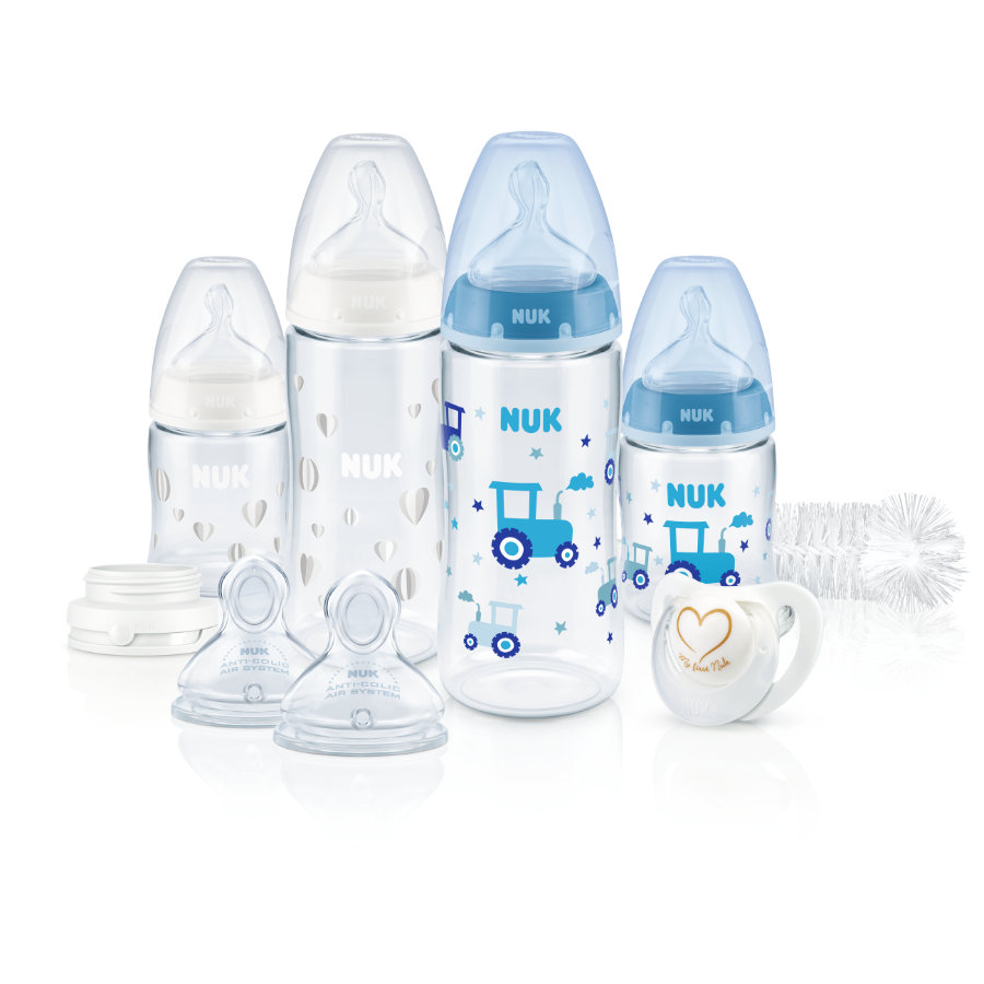 NUK Starter-Set First Choice+ Temperature Control Perfect, Jungs