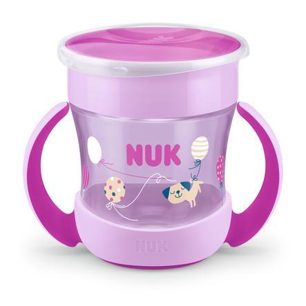 NUK Tazza da bere Mini Evolution Magic Cup del 6° mese, viola