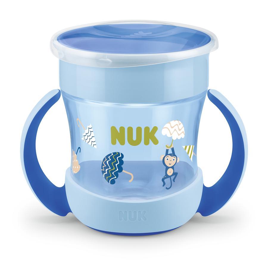 NUK Tazza da bere Mini Evolution Magic Cup del 6° mese, blu
