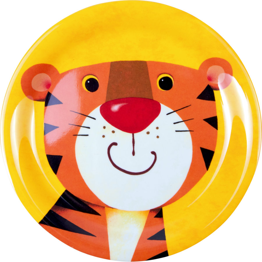 SPIEGELBURG COPPENRATH Melaminplatta Tiger Cheeky rascals
