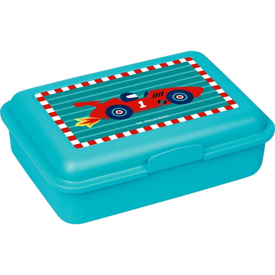 SPIEGELBURG COPPENRATH Petite voiture de course avec boîte à lunch (Quand je serai grand)