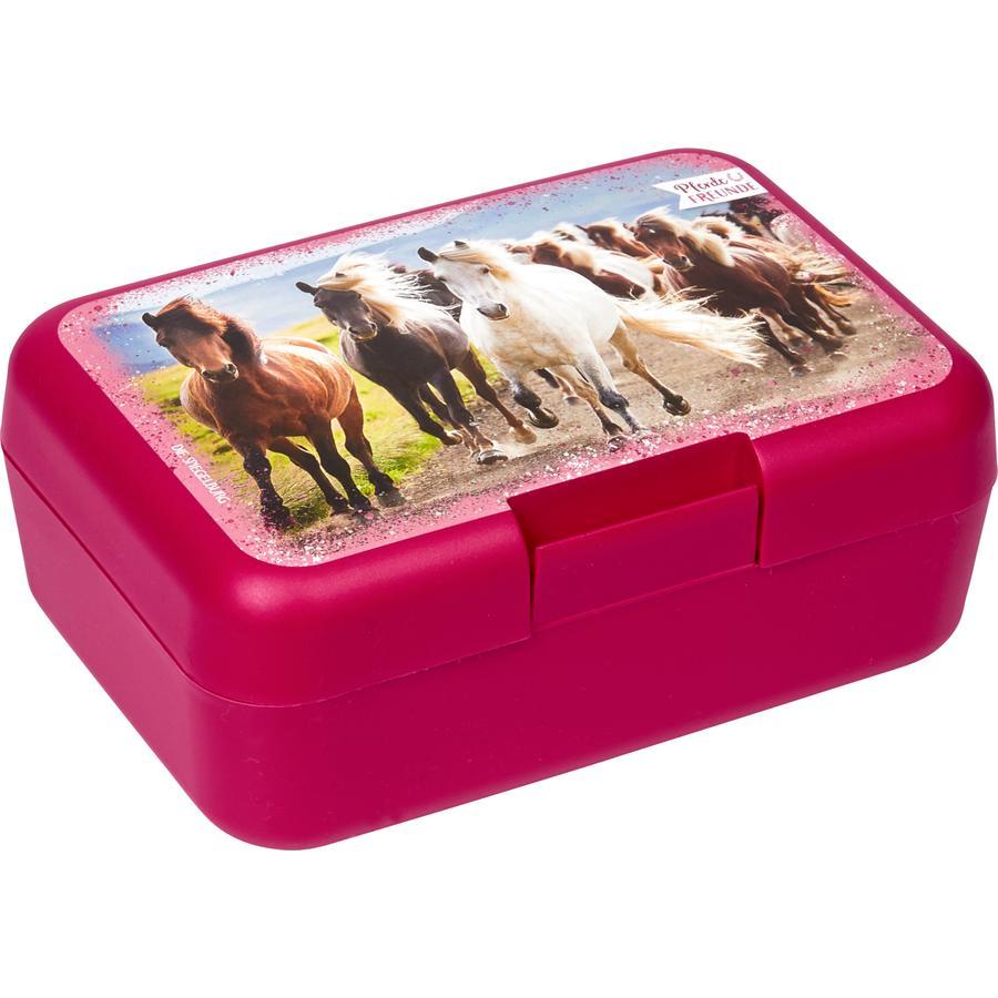 SPIEGELBURG COPPENRATH Pequeña caja de almuerzo para los amantes de los caballos (con manada de caballos)