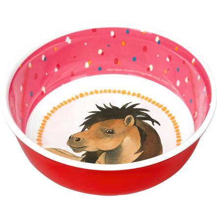 SPIEGELBURG COPPENRATH Tazón de melamina Mi pequeña granja de ponis