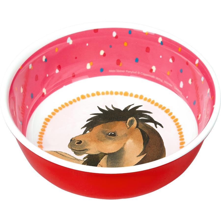 SPIEGELBURG COPPENRATH Melamin skål Min lille pony gård