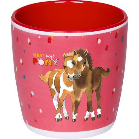 SPIEGELBURG COPPENRATH Melaminový pohár Moje malá poníková farma