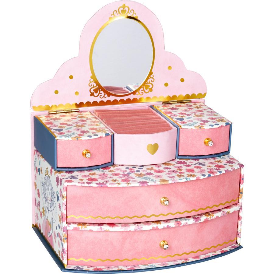SPIEGELBURG COPPENRATH Sammetskasse Princess Lillifee glitter & guld