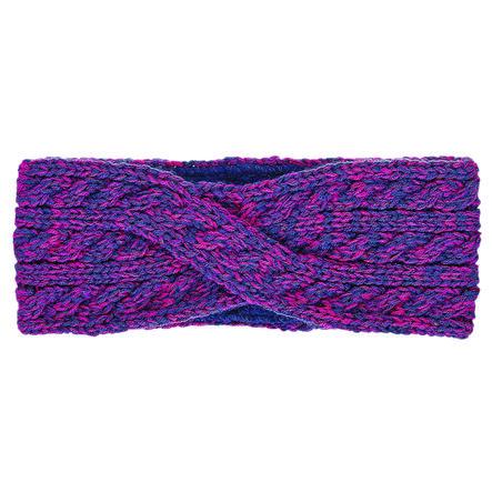 Sterntaler pletená čelenka purpurová