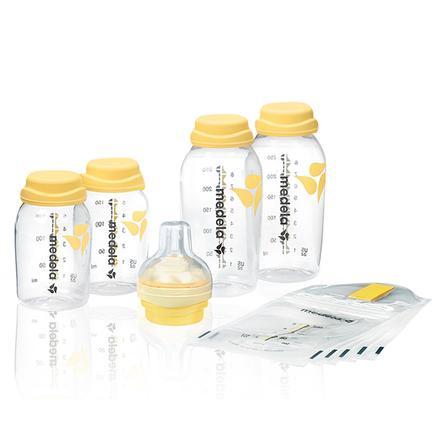 medela Juego para almacenar y alimentar la leche materna