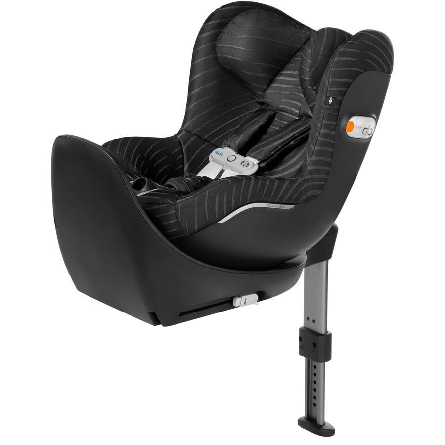 gb PLATINUM Kindersitz Vaya 2 i-Size Plus inklusive SensorSafe Lux Black